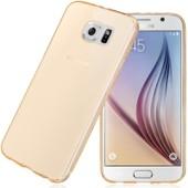 Ebeststar � Housse Coque Protection Silicone Gel Ultra Fine ,5mm Etui Souple Pour Samsung Galaxy S6 Sm-G920f, G920, Couleur Transparent + Film Protection D'�cran