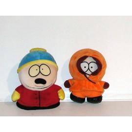 South Park Cartman Et Kenny Peluches 16cm Comedy Park 1998 South Park Ltd London