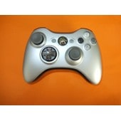 Manette Xbox360 Silver + Kit De Recharge