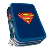 Superman - Trousse Scolaire Garnie Triple Superman 2015