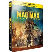 Mad Max : Fury Road - Steelbook Ultimate �dition - Blu-Ray3d + Blu-Ray+ Dvd + Copie Digitale de George Miller