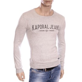 Kaporal - Homme - Pull Gris Col Rond Wipo Hiver 2016