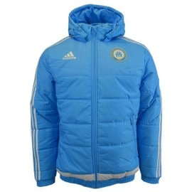 2015-2016 Marseille Adidas Padded Jacket (Blue)