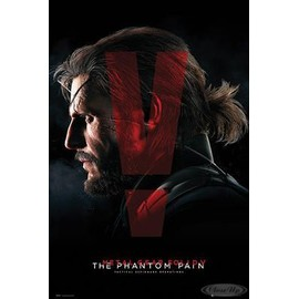 Metal Gear Solid V Poster The
