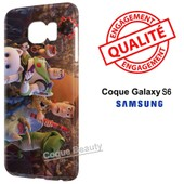 Coque Galaxy S6 Toy Story