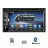 TAKARA GPV1826BT Autoradio 2DIN DVD GPS USB Bluetooth 6,2