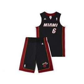 Y Heat Jrsy - Ensemble Heat Basketball Gar�on Adidas