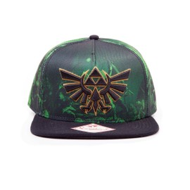 The Legend Of Zelda - Casquette Hip Hop Snap Back All Over Print