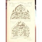 158 Eme Livraison / Cathedrale D'amiens - Du Tabernacle De L'autel De La Vierge / De La Porte De L'evech� D'amiens D'apr�s Les Dessins Originaux De Feu Viollet-Le-Duc / Southivell Minster ... de RAGUENET A. /