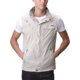 Columbia Silver Ridge Gilet Sans Manches Homme Fossil Fr : Xl (Taille Fabricant : Xl)