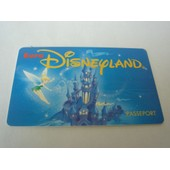 Passeport Disneyland - F�e Clochette - 1993