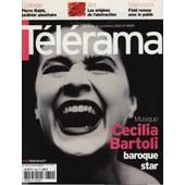 T�l�rama / 12-11-2003 N�2809 : Cecilia Bartoli (6p) Pierre Rabhi (3p) Lhasa (2p) Anne Brochet (1p)