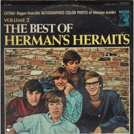 Volume 2: The Best Of Herman's Hermits (WITH POSTER)[WITH POSTER]