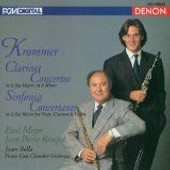 Concertos Pour Clarinette, Sinfonia Concertante Meyer, Clarinette - Franz Krommer