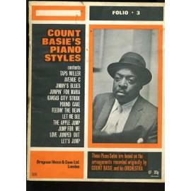 Count Basie's piano styles Folio 3