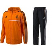 Real Pres Suit - Surv�tement Football Real Madrid Homme Adidas