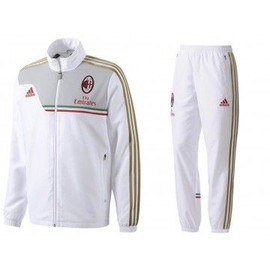 Acm Pre Suit - Surv�tement Football Milan Ac Homme Adidas
