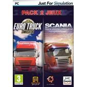 Pack Euro Truck : Euro Truck + Scania Truck Driving Simulator
