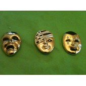Pin's Masques Venitien Lot De 3