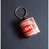 Porte Clef Publicitaire Vintage Ancien - Fun, Rigolo - Legal - En Forme De Pot � Caf�