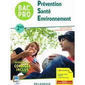 Prevention Sante Environnement Bac Pro 2de de MICHELE TERRET-BRANGE