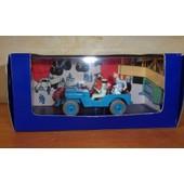 Voiture Tintin La Jeep D'objectif Lune N� 01a