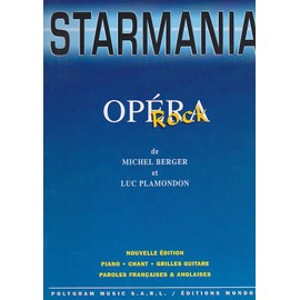 Starmania - opéra rock [Partition] by berger michel