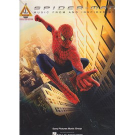 Spider-Man: Music From And Inspired By The Motion Picture. Partitions pour Tablature Guitare (Boîtes d'Accord) - guitar tab edition