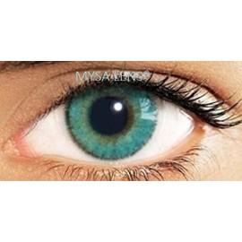 Lentilles De Contact De Couleur Bleu 3 Tons /Blue Contact Lens 3 Tone