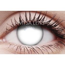 Lentilles Fantaisie Blanches /Crazy Lens White
