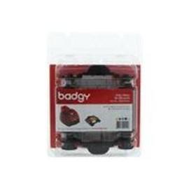 Badgy - Couleur (Cyan, Magenta, Jaune, Noir, Transparent) - Cassette � Ruban D'impression - Pour Badgy 1st Generation