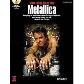 Learn To Play Drums With Metallica Vol. 1 + CD