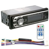 Xcsource Car Stereo Audio In-Dash Fm Aux Input Receiver Mp3 Radio Player With Sd Usb Ma185