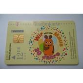 Carte T�l�phone - Allemagne -Telefonkarte - Wir Sind Die Maus - 30 Jahre -