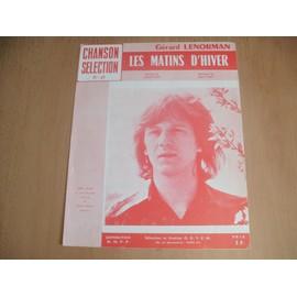 GERARD LENORMAN - PARTITION LES MATINS D HIVER -