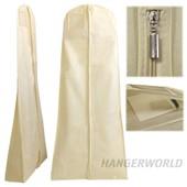 Hangerworld - 3 Housses De Protection Ivoire - Respirantes - Pour Robe De Soir�e/De Mari�e - 182cm