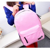 Grand Sac � Dos Grand Volume Solide Noir Rouge Rose Marine Beige Bleu Rentr�e Des Classes Solaire Lyc�e Primaire Coll�ge. Black Sugar Boutique Cosplay Sac Accessoire Anime Manga