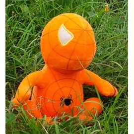 Peluche Spiderman Orange