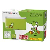 Console 3ds Xl Yoshi Special Edition Green