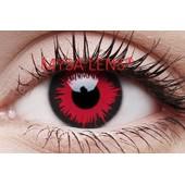 Lentilles De Couleur Fantaisie Rouge /Crazy Lens Red