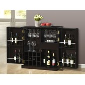 Meuble De Bar Gordon - H�v�a & Mdf - Coloris Weng�