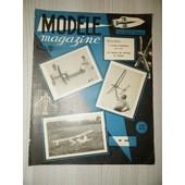 Mod�le Magazine N� 59 - 12/1954 de collectif
