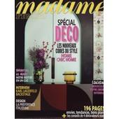Madame Figaro / 21-10-2011 N�20907 : Karl Lagerfeld (4p) - Emma Stone (4p) - Pascal Elb� (1p)