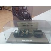 V�hicules Et Blind�s Atlas Jeep Willys Mb De La 2eme Db