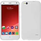 Coque En Silicone Pour Zte Blade S6 - S-Style Blanc - Cover Phonenatic Cubierta