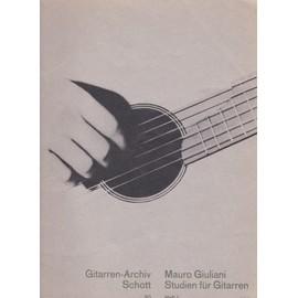 Studien für gitarren - Etudes pour guitare