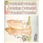 Calendrier 1988 Almanach Ptt Bouches Du Rhone / Dieux Et Deesses : Venus, Apollon