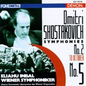 Symphonies Nos. 5 & 2 Symph. De Vienne - Dimitri Chostakovitch
