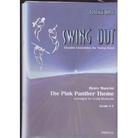 Pink Panther Theme (Swing Out) - flexible ensembles for swing band