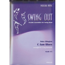 C Jam Blues (Swing Out) - flexible ensembles for swing band